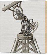 Troughton Equatorial Telescope, 19th Wood Print