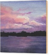 Trout Lake Sunset I Wood Print