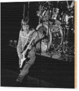 Trower At Winterland Wood Print
