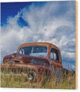 Truck Heaven Wood Print
