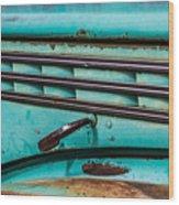 Truck Lines Wood Print
