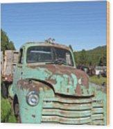 Truck Montana Wood Print