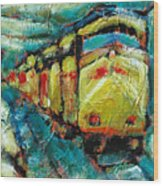 Truckee Train 2 Wood Print