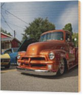 Trucking With Style Wood Print