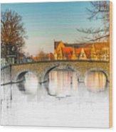 True Colors Of Amsterdam Wood Print