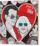 True Romance Wood Print by Gary Niles