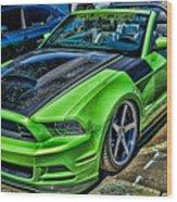 Truefiber Mustang Wood Print