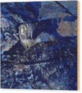 Truly Blue  Wood Print