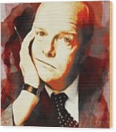 Truman Capote, Literary Legend Wood Print
