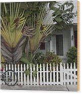 Truman Capote Lived Here Wood Print