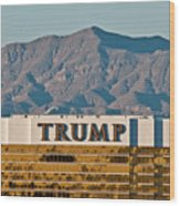 Trump Tower Nevada Wood Print by Andy Smy