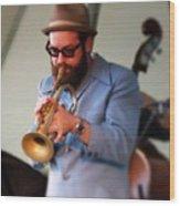 Trumpeter 1 Wood Print