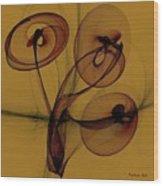 Trumpets Of Jericho Wood Print