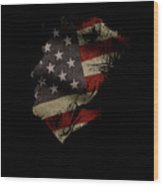Trumps America Wood Print