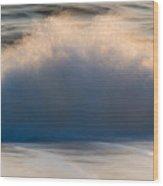 Truro Wave Wood Print