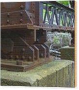 Trussed Trestle Wood Print