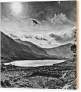 Tryfan And Llyn Ogwen Wood Print