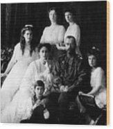 Tsar Nicholas II And His Family - 1913 Wood Print