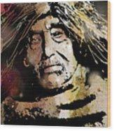 Tsawatenok Man Wood Print