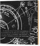 Tsiolkovsky's Works On Space Conquest Wood Print