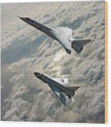 Tsr.2 Advanced Bomber And Lightning Interceptor Wood Print