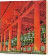 Tsuri-do-ro Or Hanging Lantern #0807-4 Wood Print