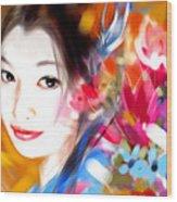 Tsuru Hime Wood Print