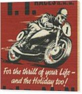 Tt Races 1961 Wood Print