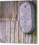 Tub For Two Wood Print by Carolyn Marshall