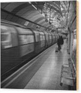 Tube Wood Print