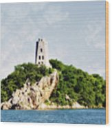 Tucker Tower Wood Print