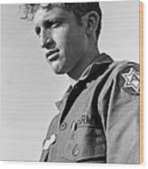 Tucson Arizona Army Reservist Taking Part In Summer Camp Exercise Death Valley  Ca 1968 Wood Print