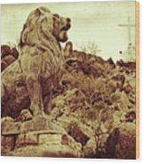 Tucson Lion Wood Print