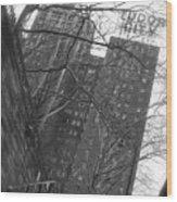 Tudor City  Wood Print