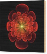 Tudor Rose - Abstract Wood Print