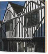 Tudor Timber Wood Print