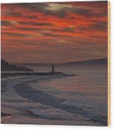 Tuesday Sunrise Wood Print