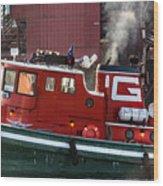 Tug Massachusetts - Chicago Wood Print