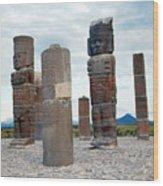 Tula: Toltec Monuments Wood Print
