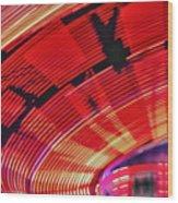Tulare Fairgrounds Wood Print