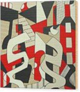 Tulcea Wood Print