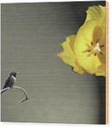 Tulip Dreams IIi Wood Print