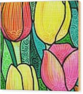Tulip Expo Wood Print