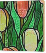 Tulip Joy 2 Wood Print