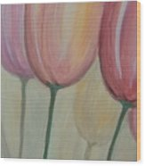 Tulip Series 1 Wood Print
