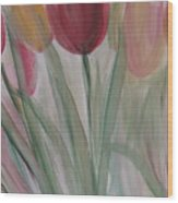 Tulip Series 3 Wood Print