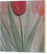 Tulip Series 4 Wood Print