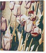 Tulip Sheltered Wood Print
