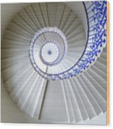 Tulip Staircase Wood Print