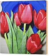 Tulipfest 1 Wood Print
